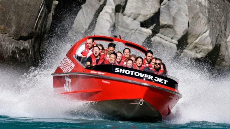 Things to do in Queenstown: Shotover Jet Boating