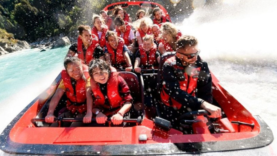 Get ready for the thrill of a lifetime with New Zealand's world famous Shotover Jet - the ultimate jet boat experience and the only way to access the spectacular Shotover Canyons!!