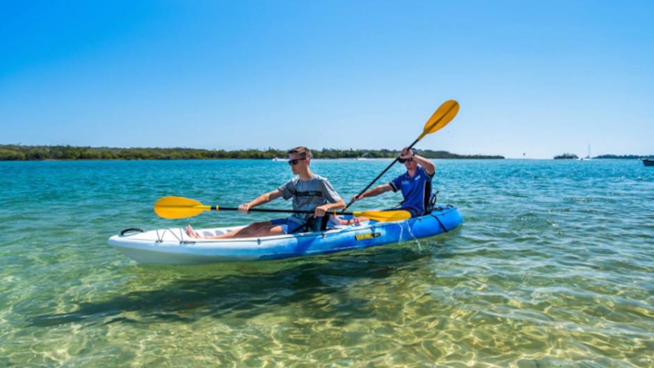 U-Drive Boat and Kayak Hire Noosa River