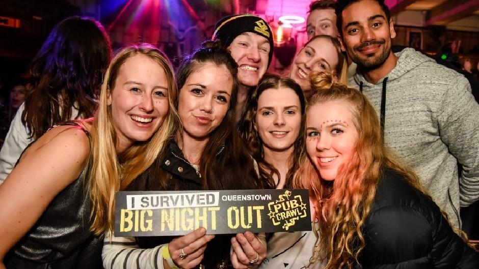 Here's your chance to party with the pros in an exclusive VIP tour of Queenstown's very best pumping bars.