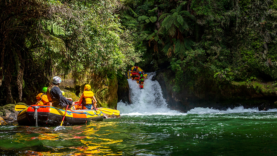 Join the Original Kaituna Rafting Company for an unbeatable Grade 5 white-water experience on one of New Zealand's most exciting and beautiful rivers!
