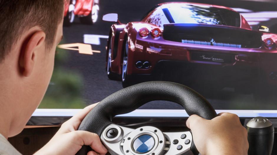 thrillzone race car simulator