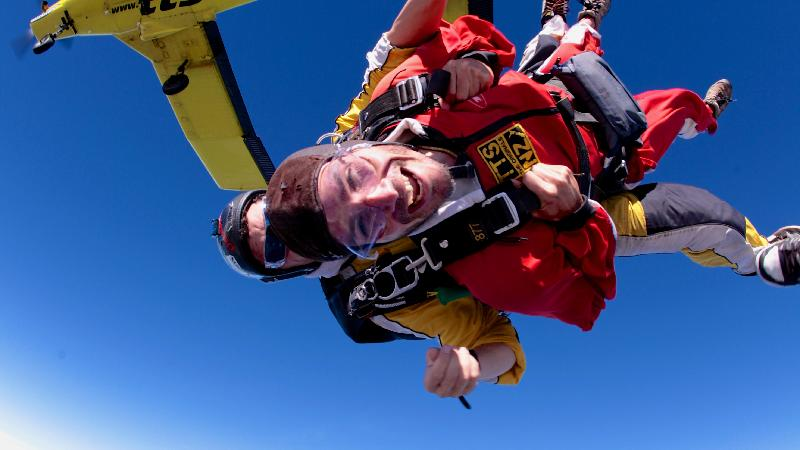 Skydive above stunning Lake Taupo with New Zealand's top rated skydive!