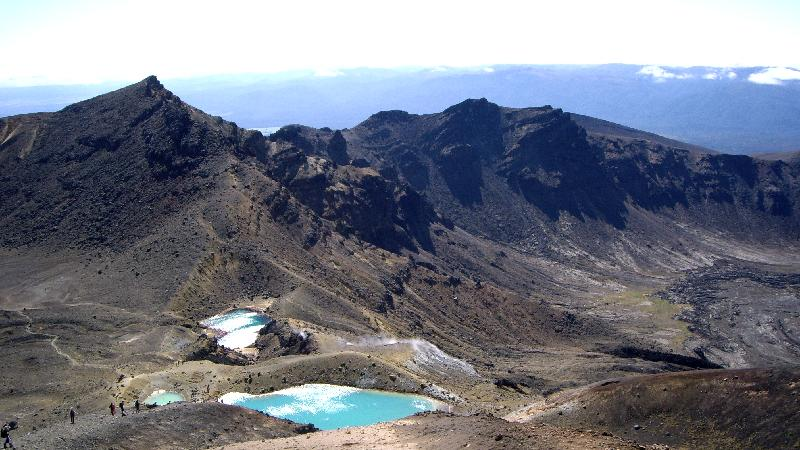 BEST Schedule Around! Departing Tongariro National Park, explore the Tongariro Crossing, Tongariro Northern Circuit or Whakapapa Village!