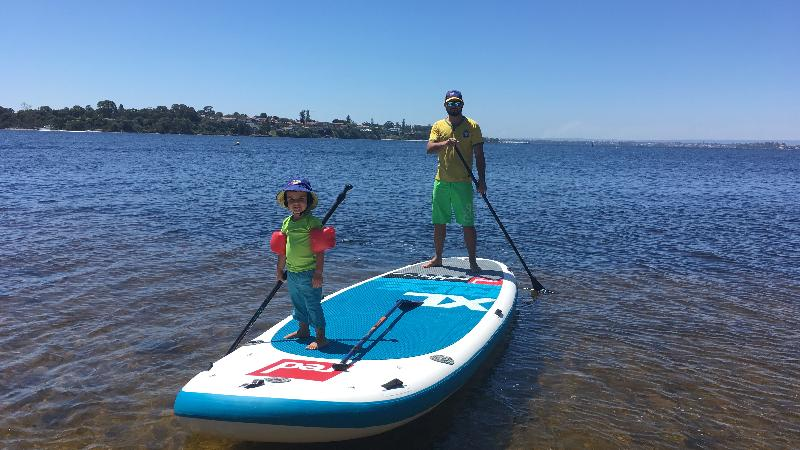 Stand up paddle is just one small discipline of the sport with the fastest growing areas being on lakes, estuaries and rivers with individuals paddling recreationally, downwind or racing. You can discover by paddling nice and easy the Swan River and its bird sanctuary, Dolphins, Black Wall Reach Parade and Bicton Bath.