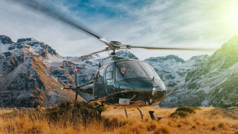 Join Over The Top Helicopters and discover Queenstowns most iconic alpine ranges from one mile high!