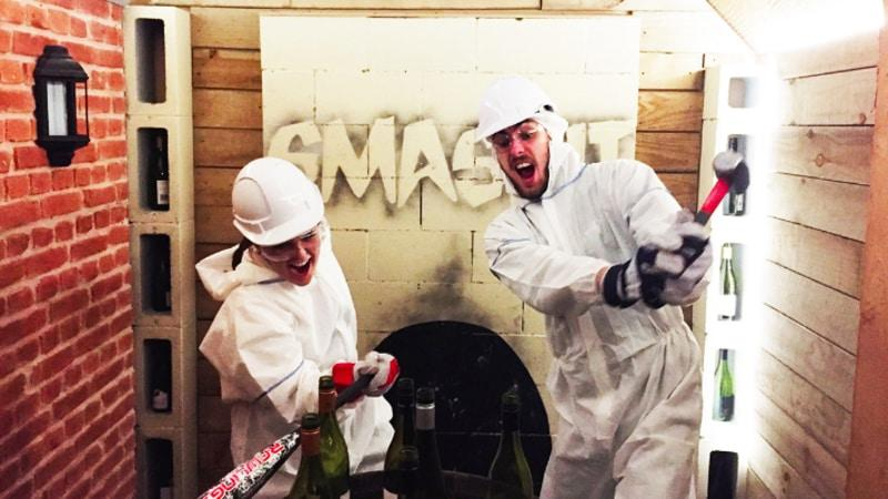 """Prepare to have a """"smashing time"""" at SMASHIT where you can let loose and blow off some steam or simply enjoy the pure exhilaration that comes from smashing stuff up!"""
