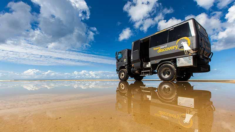 "Experience Fraser Island in one of our purpose built 4WD ""Warrior's"", departing Noosa and Rainbow Beach daily."