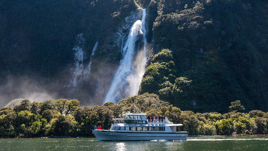 Discover the majestic Milford Sound in pure premium travel, limited to 19 pax so everyone enjoys our kiwi hospitality, a picnic lunch, 2 hour nature cruise and plenty of photo opportunities.