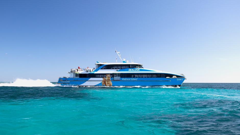 Modern Catamaran Ferry