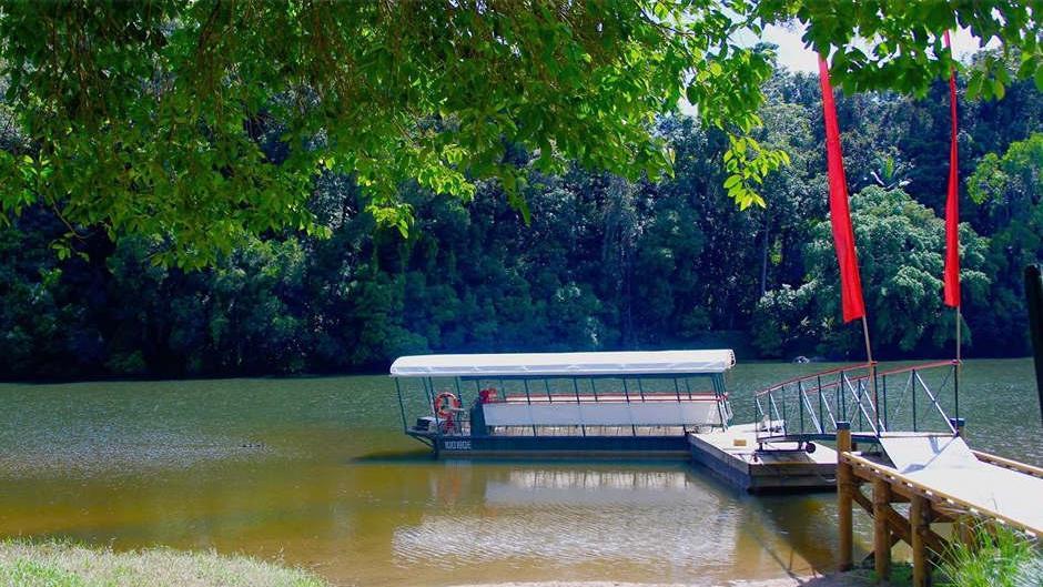 Kuranda riverboat cruise