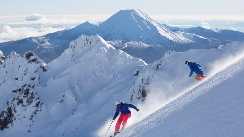 Whakapapa ski area Mt Ruapehu