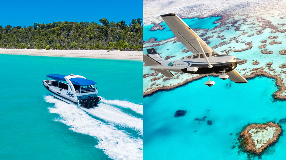 Heart Reef Scenic Flight combo