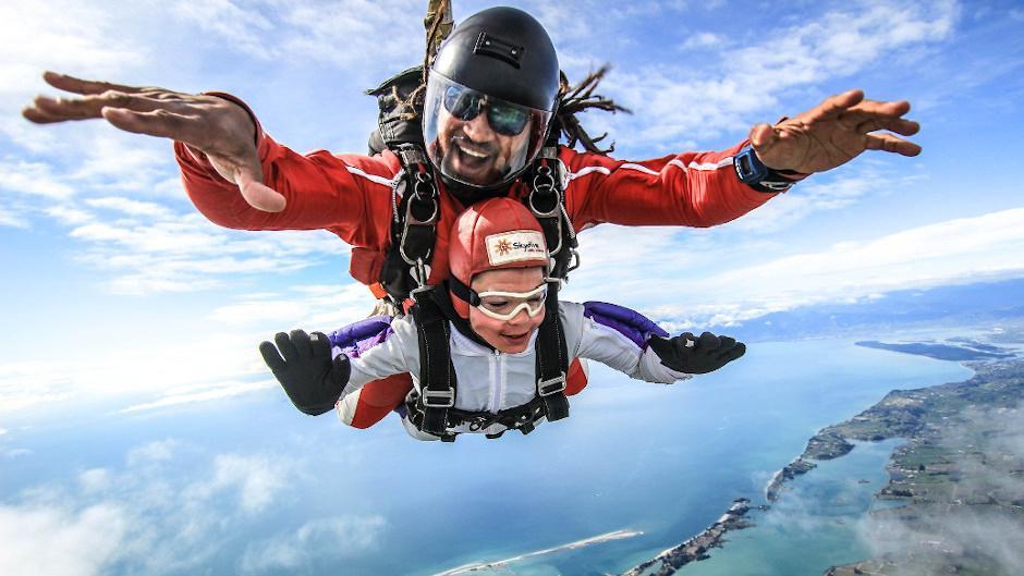 20,000ft Skydive Abel Tasman