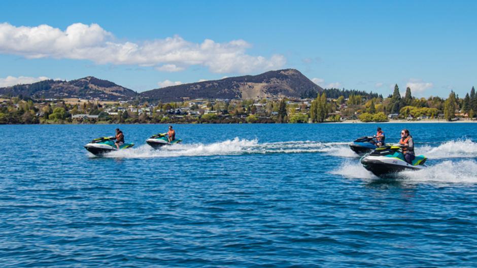 Discover Lake Wanaka on an incredible Jet Ski Tour!
