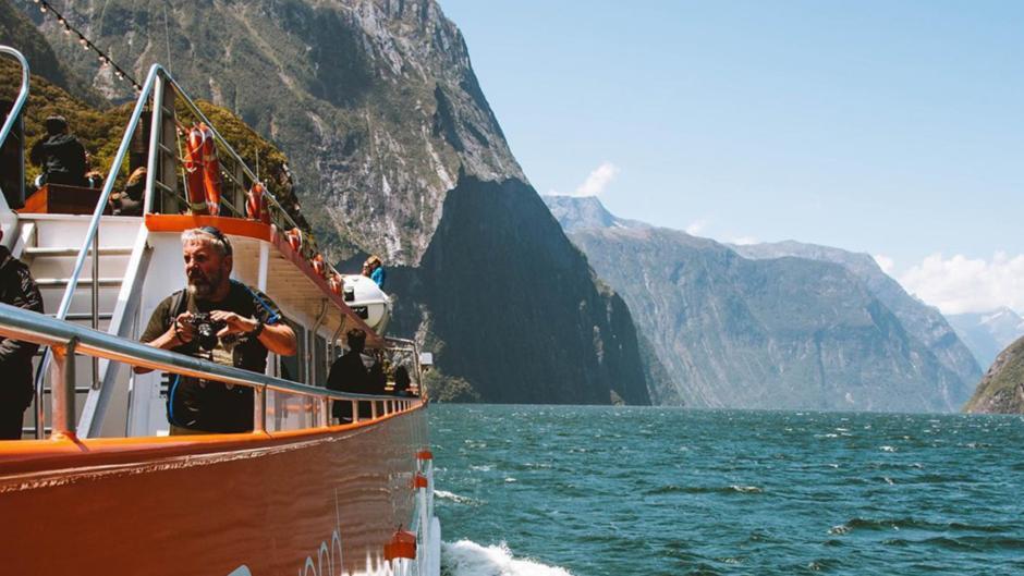 Real Journeys Coach Cruise Te Anau Milford Sound deals