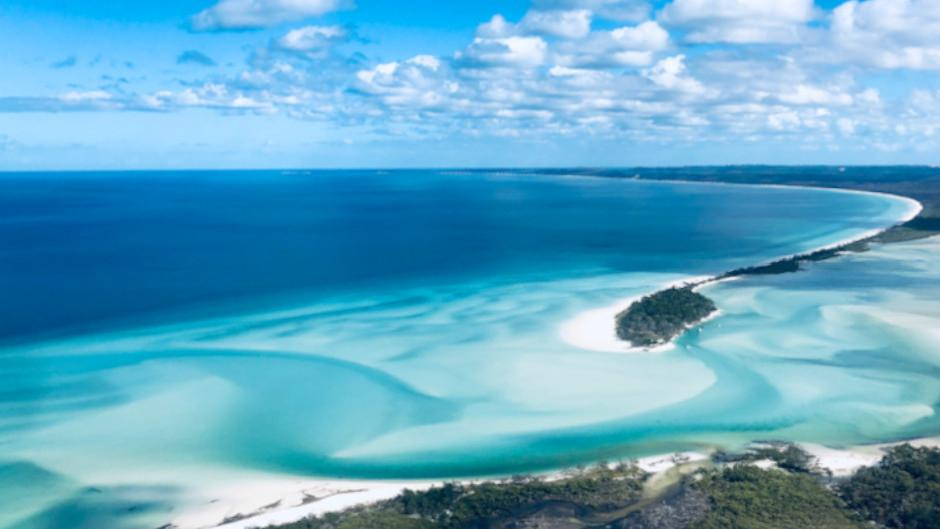 Fraser Island Scenic Helicopter Flight
