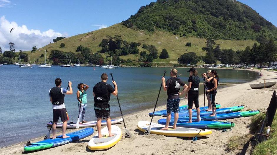 stand up paddle board tauranga