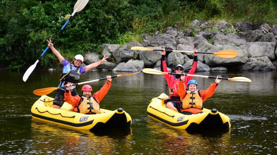 wellington white water rafting