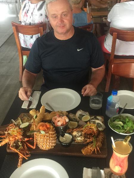 Rhum-Ba Seafood Plater