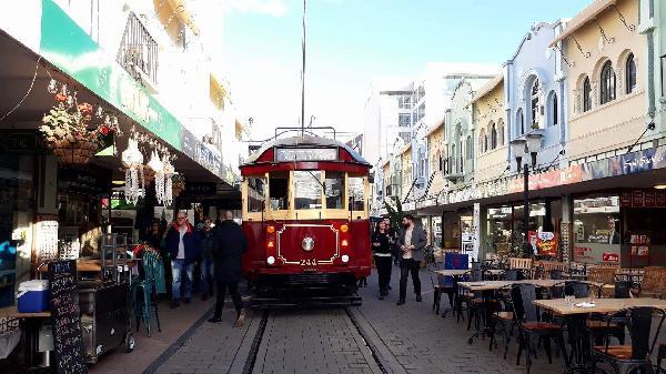 Tram in New Regent Street