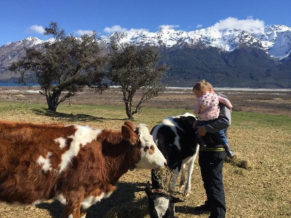 Beautiful - family fun at Glenorchy Farm