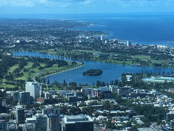 Panoramic Melbourne 360 degrees