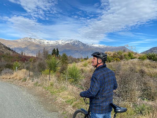 Fun day at Gibbston valley bikes and Restaurant