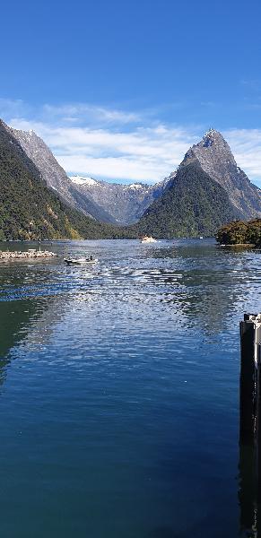 Milford Sound sceneries