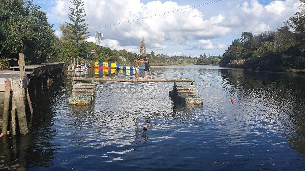 Fantastic water park for whānau fun