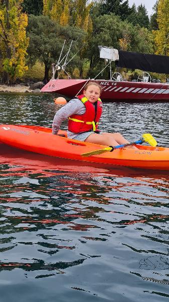 Kayaking on Wakatipu