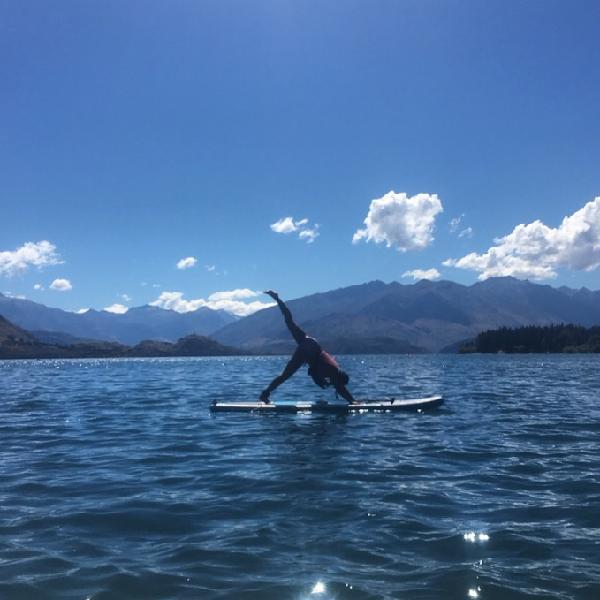 Yoga boarding