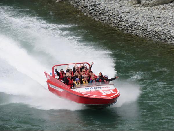 Jet Boating - Thrill seeking activity