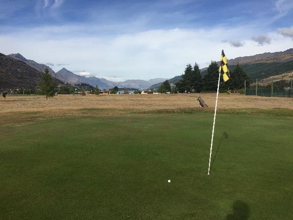 Nice views surrounding the course.