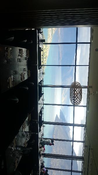 Fantastic views, food and atmosphere!
