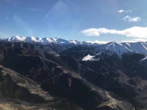 Glider flight Canterbury