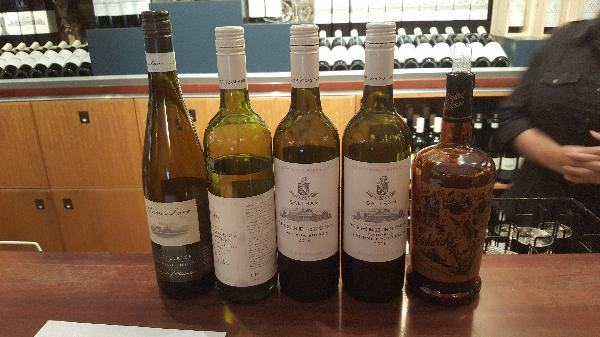 Lovely selection of wines