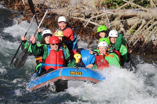 Winter Rafting