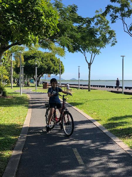 School holiday bike ride !