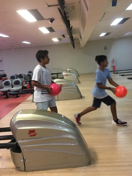 Temping bowling