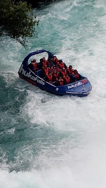 Hukka falls jet boat