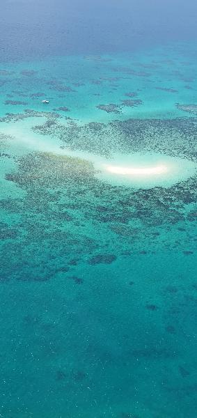 Great Barrier Reef flight
