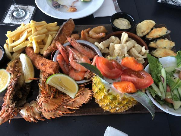 Fisherman's platter for two