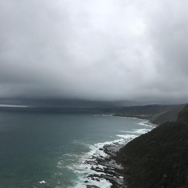 Great ocean road reverse