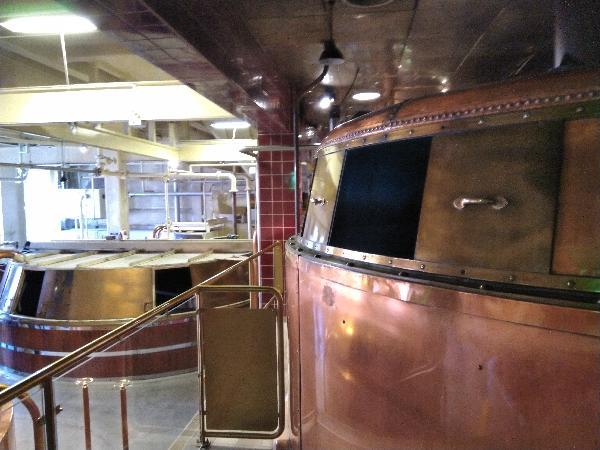 Wonderful brewery tour