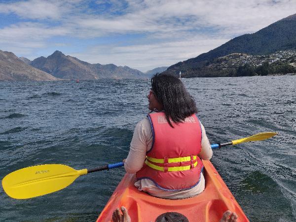 Incredible Kayaking Experience on Lake Wakatipu