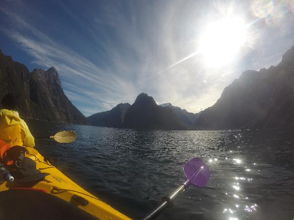 The best way to see the fjords!
