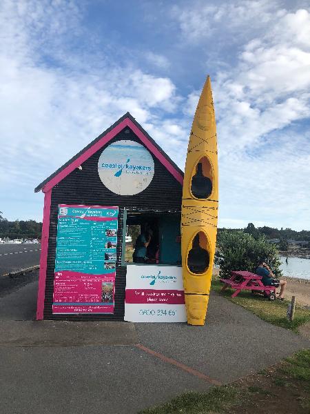 Waitangi Kayaking