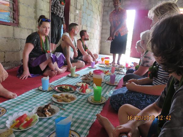Lunch - Fijian Style