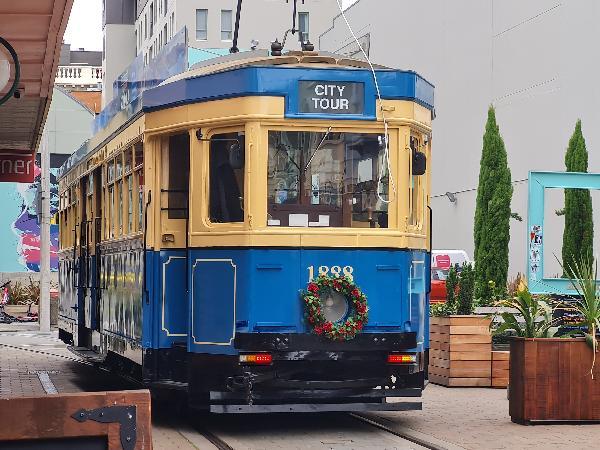 Tram ride Christchurch